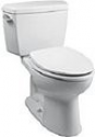 Deals List: TOTO Drake Elongated Two Piece Toilet (Cotton White) CST744SL-01