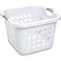Deals List: Sterilite 1.5 Bushel Square Laundry Basket- White (Available in Case of 6 or Single Unit)