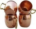Deals List: Hammered Copper Moscow Mule Mug Handmade of 100% Pure Copper