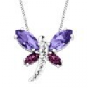 Deals List: Dragonfly Pendant with Swarovski Crystals Sterling Silver