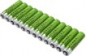 Deals List: Dynex™ - Rechargeable AAA Batteries (12-Pack) - Green/Silver, DX-NB12AAA