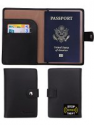 Deals List: Travelambo RFID Blocking Leather Passport Holder Wallet Cover Case Wing Pocket in 7 Colors