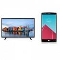 "Deals List: 32"" LG 32LH550B Smart HDTV + LG G4 Unlocked LTE Smartphone + $100 GC"
