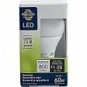 Deals List: Brighton Pro A19 9-Watt LED Dimmable Light Bulb (BPR43464)
