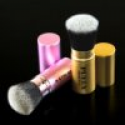 Deals List: PUEEN Synthetic Hair Retractable Round Top Kabuki Brush and Flat Top Kabuki Brush Set