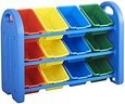 Deals List: ECR4Kids 3-Tier Toy Storage Organizer with 12 Bins