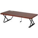 Deals List: Manual Adjustable-Height Table Top Desk (Cherry)