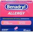 Deals List: Benadryl Allergy Ultratab Tablets, 48-Count