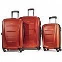 Deals List: Samsonite Winfield 2 Fashion Hardside 3 Piece Spinner Set - Orange (56847-1641)