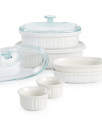 Deals List: CorningWare French White 10-pc. Bakeware Set