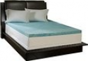 Deals List: Simmons Curv 3-inch Flat Gel Memory Foam Mattress Topper - Queen