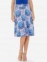 Deals List: High Waisted Printed Midi Skirt