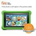 "Deals List: Fire Kids Edition Tablet, 7"" Display, Wi-Fi, 8 GB, Green Kid-Proof Case"