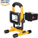Deals List: 10W Work Light:LOFTEK LED Portable Floodlight Outdoor Floodlight Waterproof 900lm 8800mAh Detachable Battery adapter and Car Charger Included