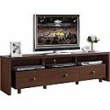 Deals List: Techni Mobili Light Walnut TV Stand with 3 Drawers for TVs up to 70""