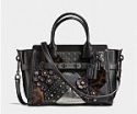 Deals List: COACH swagger 27 in croc embossed leather