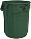 Deals List: Rubbermaid Commercial FG262000DGRN BRUTE Heavy-Duty Round Waste/Utility Container, 20-gallon, Green