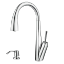 Deals List: Pfister Mystique Commercial Style Single-Handle Pull-Down Sprayer Kitchen Faucet