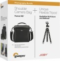 Deals List: Lowepro/Joby - Format 160 Camera Bag & GorillaPod Tripod - Black, LP37050-BWW