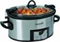 Deals List: Crock-Pot SCCPVL610-S 6-Quart Programmable Cook and Carry Oval Slow Cooker, Digital Timer, Stainless Steel