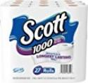 Deals List: Scott 1000 Sheets Per Roll Toilet Paper, Bath Tissue, 27 Rolls