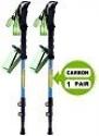 Deals List: JESBAN 2-Pack Trekking Poles Walking Hiking Sticks for Travel Hiking Climbing (80% Carbon Fiber, Physical anti-shock, 1-Year Warranty)