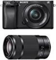 Deals List: Sony Alpha a6300 Mirrorless Digital Camera with 16-50mm f/3.5-5.6 Lens and E 55-210mm f/4.5-6.3 OSS E-Mount Lens (Black)