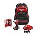 Deals List:  Milwaukee M18 18-Volt Lithium-Ion Brushless 1/4 in. Hex Impact Driver Kit with Backpack and Bit Set