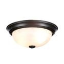 Deals List: Commercial Electric 2-Light Brushed Nickel Flushmount (2-Pack)