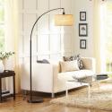 Deals List:  Better Homes and Gardens Burlap Bronze Arc Floor Lamp w/CFL Bulb