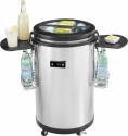 Deals List: Insignia™ - 1.7 Cu. Ft. Party Beverage Cooler - Stainless Steel, NS-CC50SS6