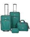 Deals List: Travel Select Kingsway Four Piece Luggage Set