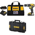 Deals List: DEWALT DCD785C2 20V MAX Lithium Ion Compact 1.5 Ah Hammer Drill/Driver Kit with DWST08130 ToughSystem Suitcase