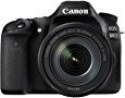 Deals List: Canon EOS 80D Digital SLR Kit with EF-S 18-135mm f/3.5-5.6 Image Stabilization USM Lens (Black)