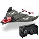 Deals List: PowerUp FPV Paper Airplane VR Drone Model Kit, Red