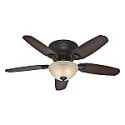 Deals List: Hunter Louden 46-in Premier Bronze Flush Mount Indoor Ceiling Fan with Light Kit