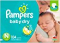 Deals List: Pampers Swaddlers Newborn Diapers Size 1, 216 Count