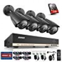 Deals List:  ANNKE 8-Channel HD-TVI 1080P Video Security System DVR