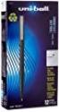 Deals List: uni-ball Roller Pens, Micro Point (0.5mm), Black, 12 Count