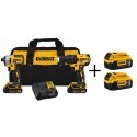 Deals List: DEWALT 20-Volt MAX Lithium-Ion Cordless Brushless Combo Kit (2-Tool) with Bonus 2-Pack Bluetooth Batteries