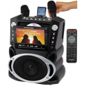 "Deals List: Singing Machine CD+G Karaoke Bluetooth System with Built-In 5"" Color TFT Monitor and Microphone"