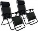 Deals List: 2-Pack Zero Gravity Chairs Case Of 2 Lounge Patio Chairs Outdoor Yard Beach O62