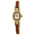 Deals List: Bulova 97L153 Gold Case Brown Leather Women's Dress Watch