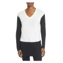 Deals List: Vince Camuto Colorblock Waffle Stitch V-Neck Sweater
