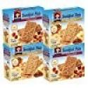 Deals List: Quaker Breakfast Flats, Variety Pack, Breakfast Bars, 5 Packets Per Box - 4 Count