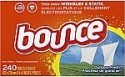 Deals List: Bounce Outdoor Fresh Fabric Softener and Dryer Sheets, 240 Count