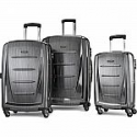 "Deals List: Samsonite Winfield 2 Fashion Hardside 3 Piece 20"", 24"", 28"" Spinner Luggage Set"