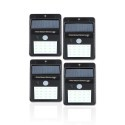 Deals List: Nature Power 20-Light Black Motion Activated Integrated LED Wall Pack Light (4-Pack)