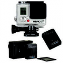 Deals List: GoPro HERO3+ Silver (Manufactured Refurbished) with new Rechargeable Battery