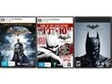 Deals List: Batman Triple Pack (Arkham Asylum GOTY + Arkham City GOTY + Origins) [Online Game Codes]